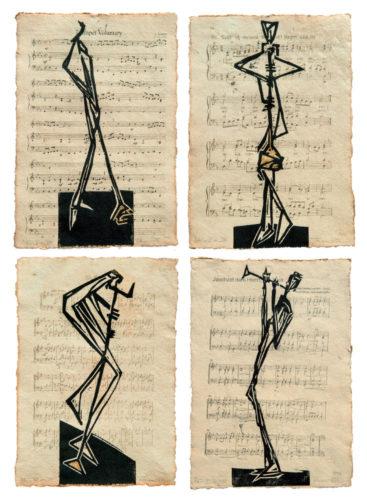 Tilman Röhner | Notenblätter Bläser V-VIII