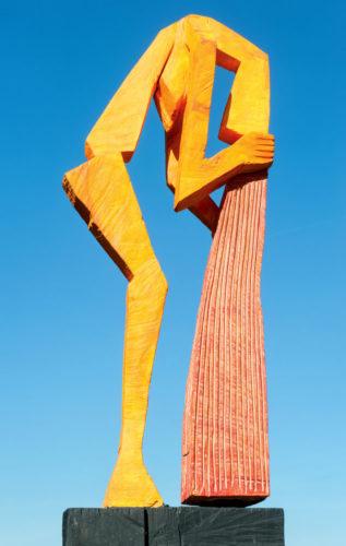 Tilmann-Röhner-Haarwäsche-50-x-140-cm-2012-Skulptur-Linde